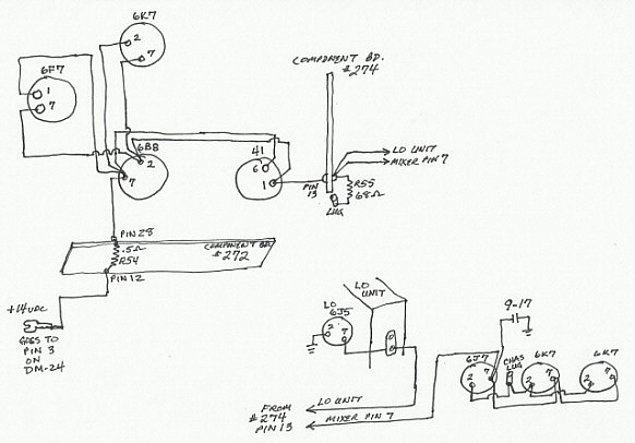 224DCwiring bc 348 dynamotor,Three Outlet Wiring Diagram