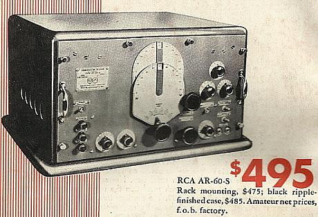 RCA AR-60 Receiver