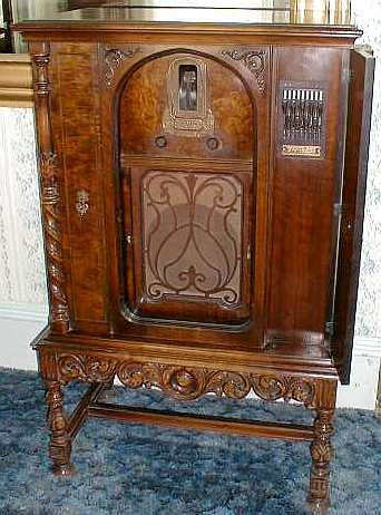 antique stereo cabinet zenith photos 10673